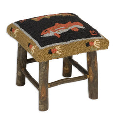 Trout Hickory Stool