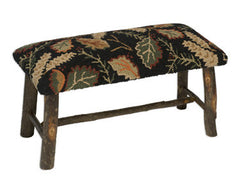 Leaf Hickory Bench