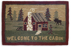 Welcome to the Cabin Rug