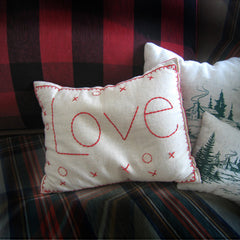 Love Balsam Pine Pillow