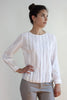 White Cotton Voile Shirt