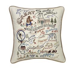 Great Smokey Mountains Park Pillow
