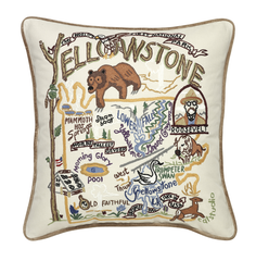 Yellowstone Park Pillow
