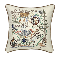 Yosemite Park Pillow