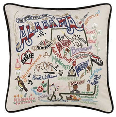 Alabama State Pillow