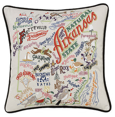 Arkansas State Pillow