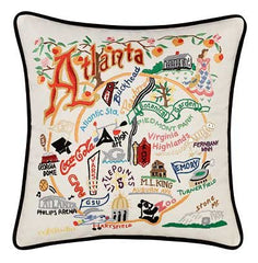 Atlanta City Pillow