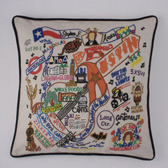 Austin City Pillow