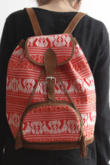 Tribal Textile Backpack