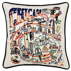 Chicago City Pillow