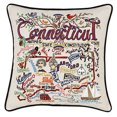 Connecticut State Pillow