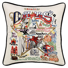 Dallas City Pillow