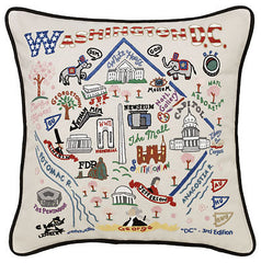Washington DC City Pillow
