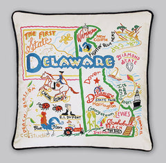 Delaware State Pillow