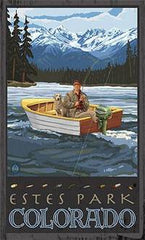 Estes Fishing Sign
