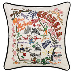 Georgia State Pillow