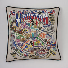 Houston City Pillow