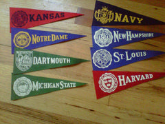 College Pennants Group 1