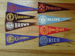 College Pennants Group 2