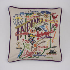 Indiana State Pillow