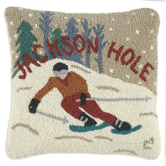 Jackson Hole Ski Pillow