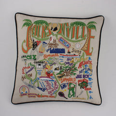 Jacksonville City Pillow