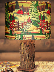 Winter Scene Lampshade