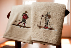 Ski Chalet Towel Set