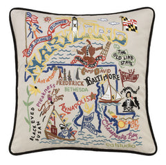 Maryland State Pillow