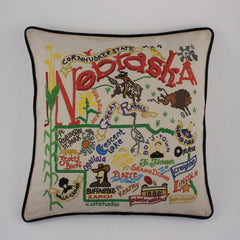 Nebraska State Pillow