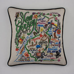 New Jersey State Pillow