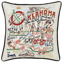 Oklahoma State Pillow