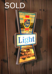 Old Style Light Beer Sign