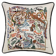 Oregon State Pillow