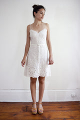 Project Alabama Applique Lace Dress