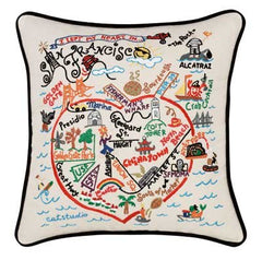San Francisco City Pillow