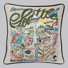 Seattle City Pillow