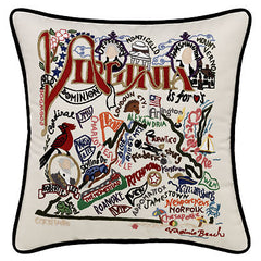 Virginia State Pillow