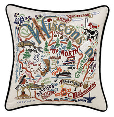 Wisconsin State Pillow