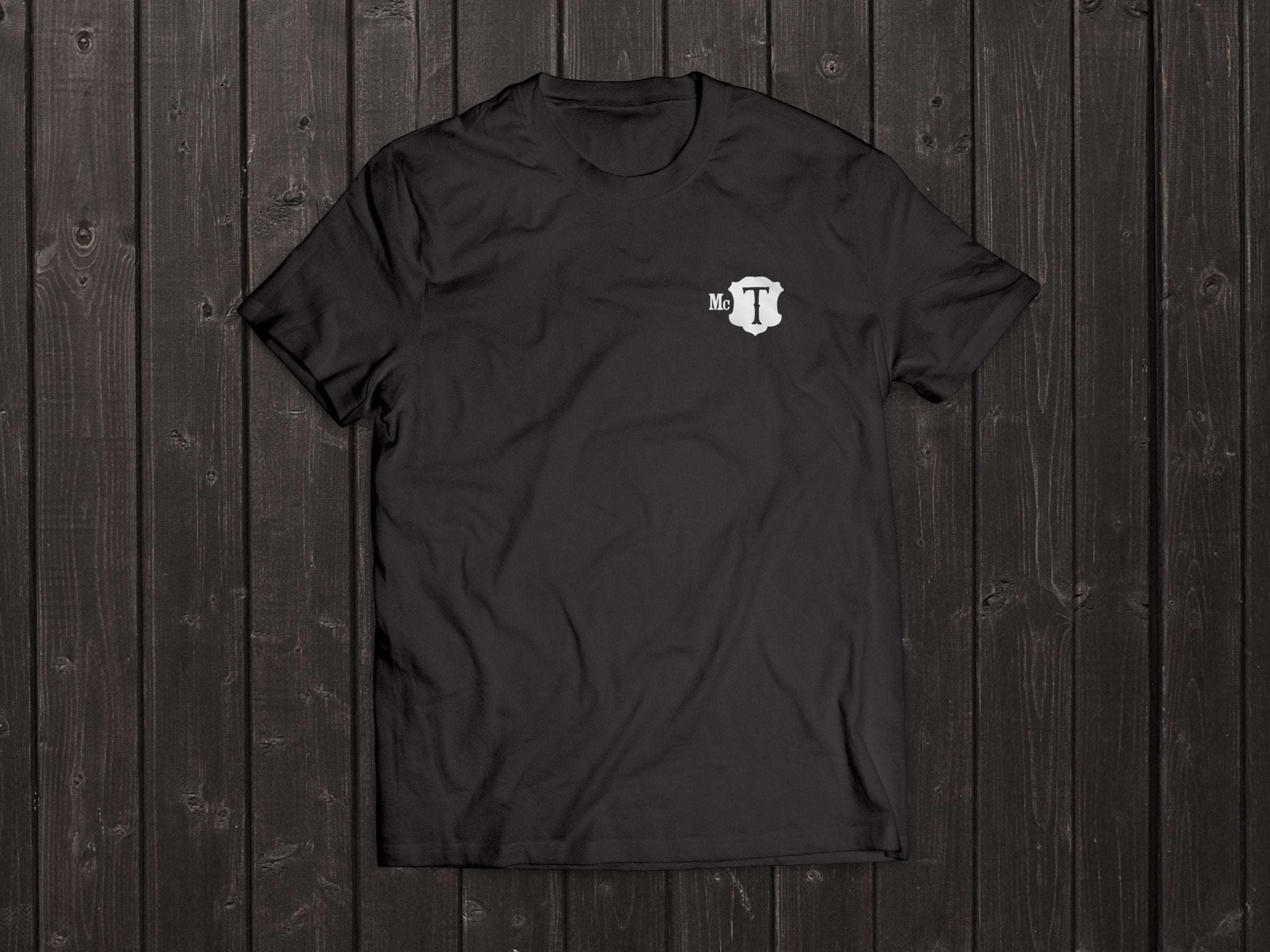 The McT Tony Singh T Shirt in Black
