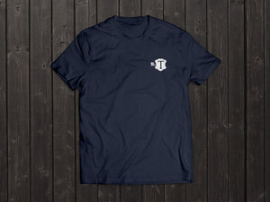 The McT Tony Singh T Shirt in Navy