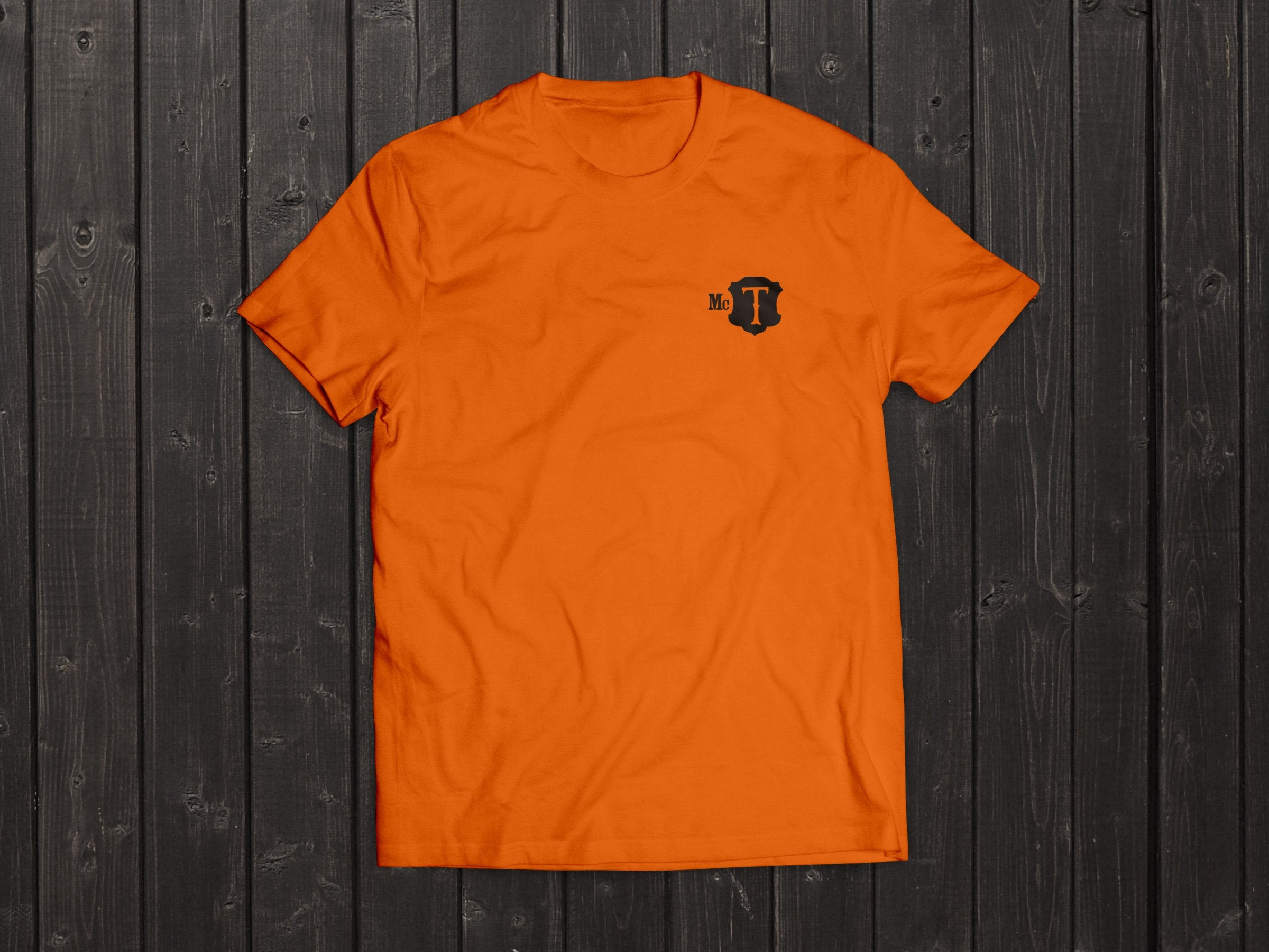 The McT Tony Singh T Shirt in Orange