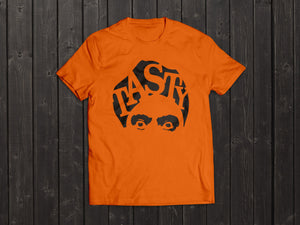 The  Tony Singh Tasty Turban T Shirt in Orange