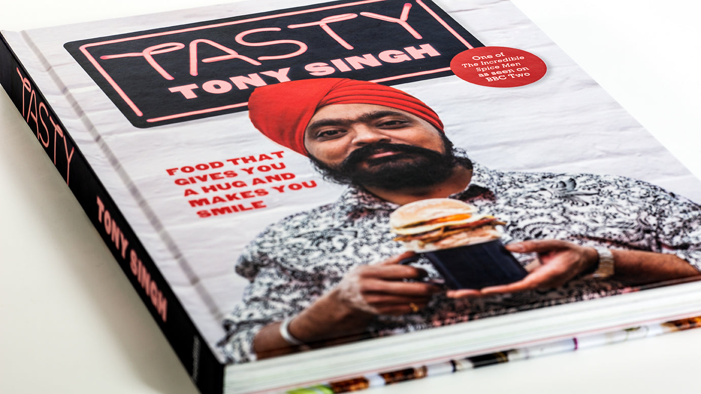 'Tasty by Tony Singh' Hardcover Book