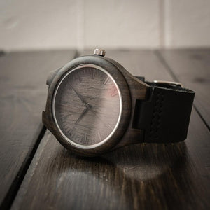 W1597 - The love of my life - For Fiancé Engraved Wooden Watch