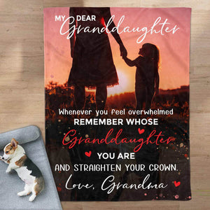 RN2775 - Straighten Your Crown - Blanket