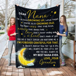 RN0966 - My Best Nana - Blanket