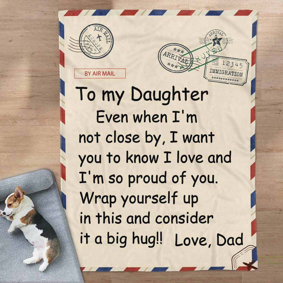 RN2811 - Dad and Daughter - Blanket