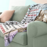 RN0894 - Visit My Lonely Nest - Blanket