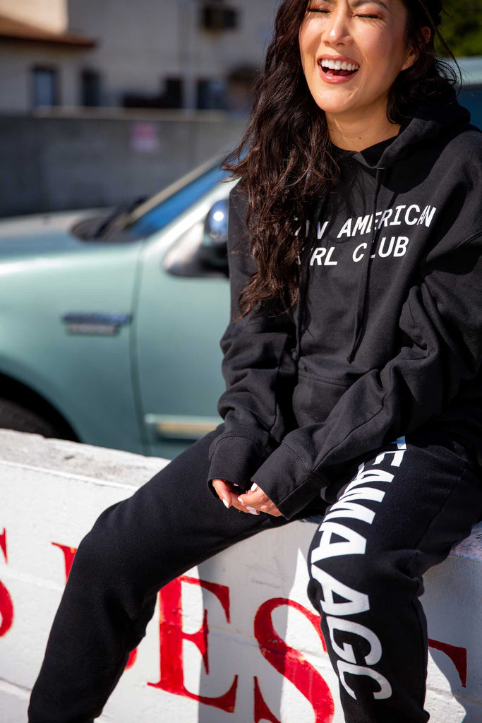 ASIAN AMERICAN GIRL CLUB HOODIE (UNISEX)